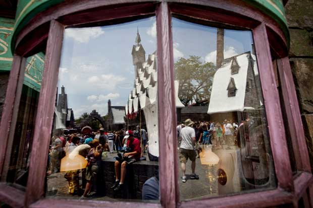 Universal, no reino de Harry Potter