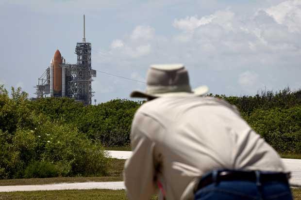 Kennedy Space Center - Uma espiadela aos preparativos para o lançamento da Atlantis, em Junho