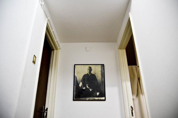 Retrato de um mestre zazen.