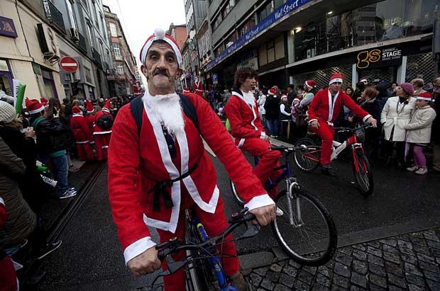 Portugal. Desfile de Pais Natal no Porto
