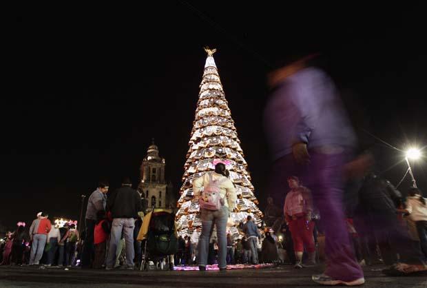 México. A árvore de México City