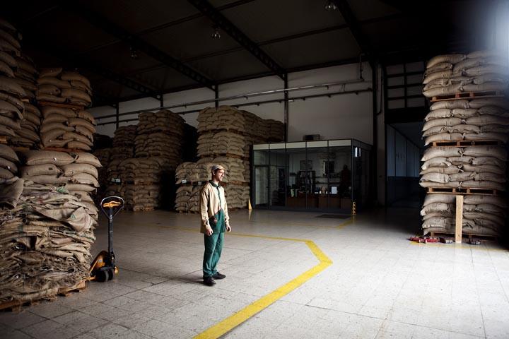 Campo Maior. Fábrica de café Delta