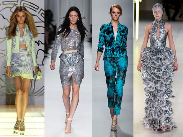 Mar Versace, Givenchy, Emanuel Ungaro e Alexander McQueen.