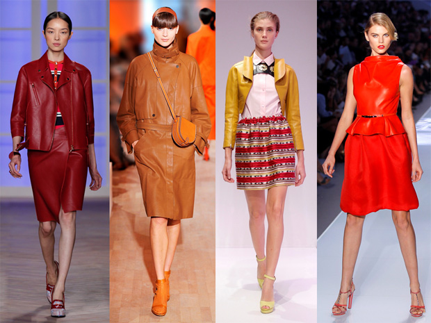Pele Tommy Hilfiger, Hermès, Carven e Christian Dior.