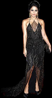 Vanessa Hudgens, a cantora e actriz norte-americana que ficou conhecida pela sua participação no filme High School Musical, escolheu um vestido da colecção de Inverno 2011 da criadora Jenny Packham para a gala. A jovem actriz, que já nos tinha habituado aos seus looks de estilo boémio, decidiu desta vez optar um look mais ousado. No entanto, a sua escolha deixou os críticos divididos e a nós, este vestido tipo-teia-de-aranha não convenceu.