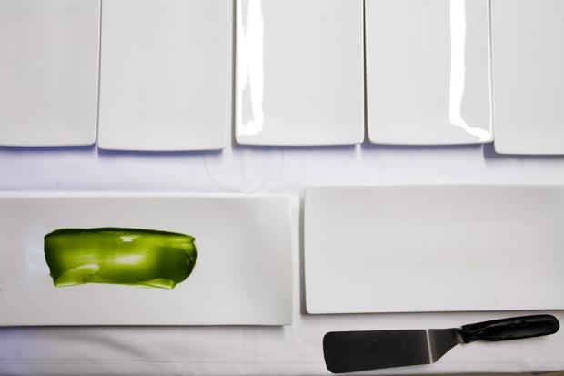A gastronomia a roçar a arte. Pincéis e tela?