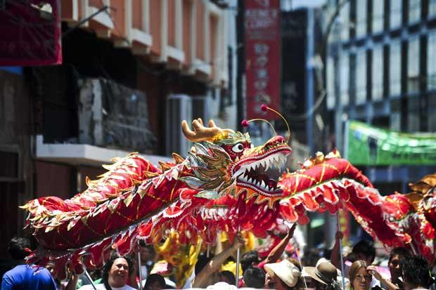 PERU. E o dragão nas ruas de Lima