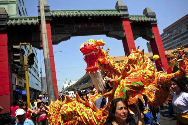 PERU. A comunidade chinesa celebra em Lima