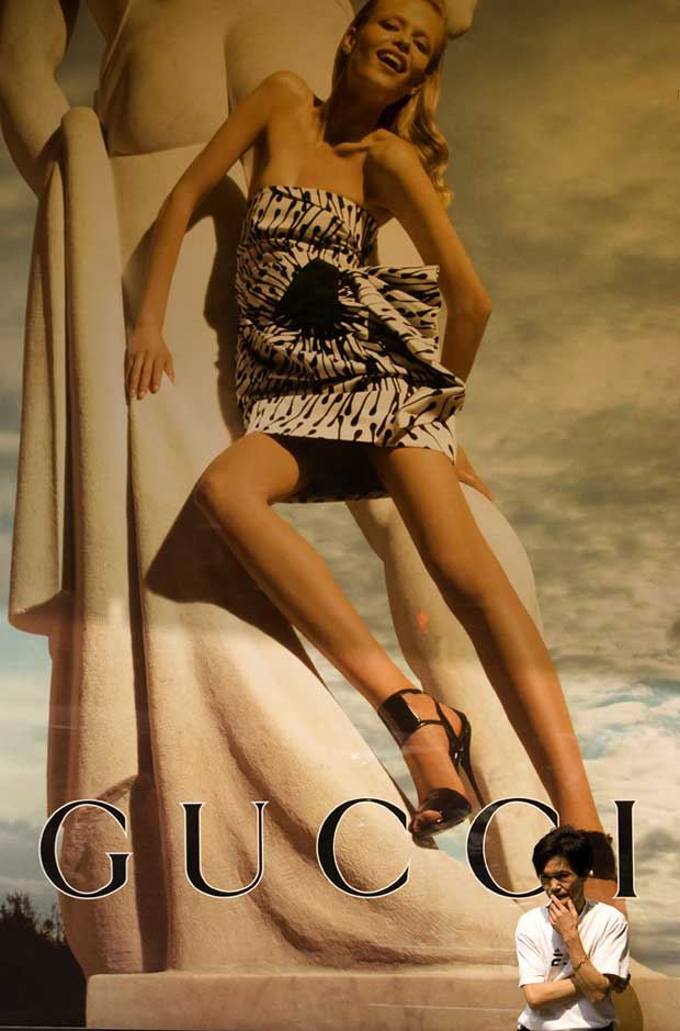 Sinais de luxo, à sombra da Gucci