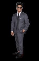 Ainda que não tenha ganho nenhum Grammy, Bruno Mars foi uma das figuras em destaque na passadeira vermelha. Vestiu um fato de três peças assinado por Thom Browne, tendência por ser constituído pelo blazer, as calças e o colete. Os pormenores não foram desprezados e fizeram toda a diferença. A gravata e o lenço de bolso dão aquele toque especial. Mas o cantor guardou o melhor para o final: sapatos sem meias com as calças na medida certa. Um must!