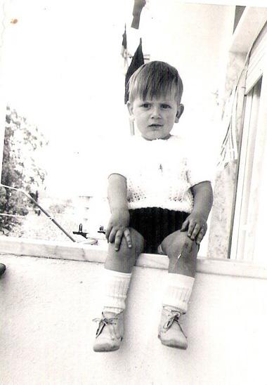 Uma das minhas fotos preferidas de infância
