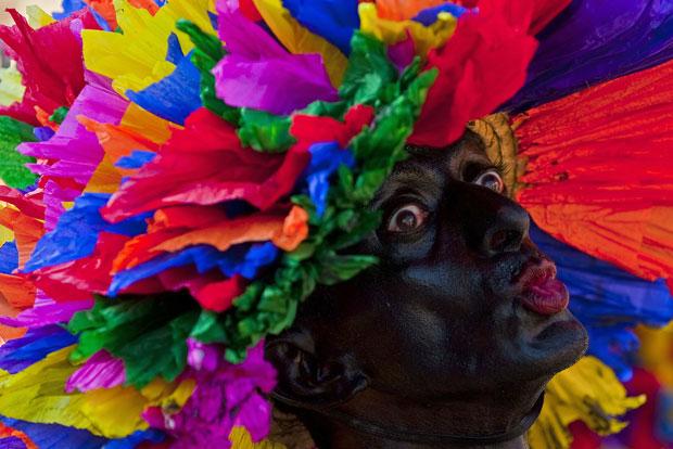 COLÔMBIA. No Carnaval de Barranquilla.