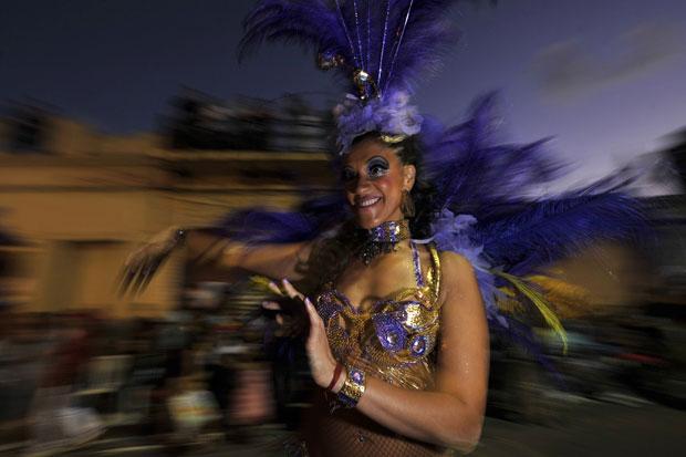 URUGUAI. Carnaval em Montevideo.