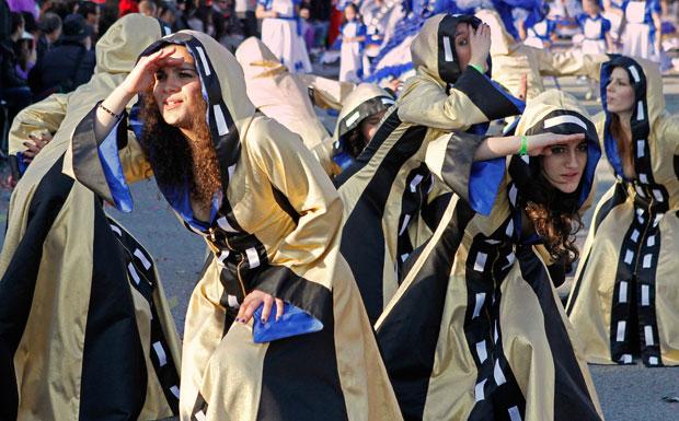 PORTUGAL. Durante o Carnaval de Ovar.