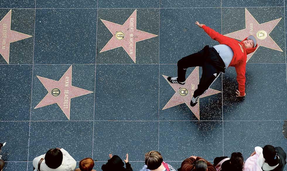 Dança sobre as estrelas.