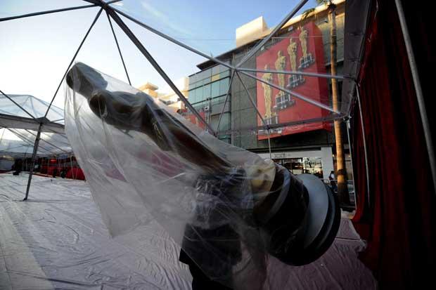 Há dias em que Óscar se passeia pelos ares da Hollywood Boulevard