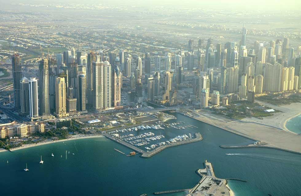 Vista geral da cidade
