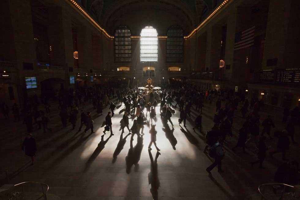 EUA, 05.03.2012. Uma manhã no Grand Central Terminal em Nova Iorque