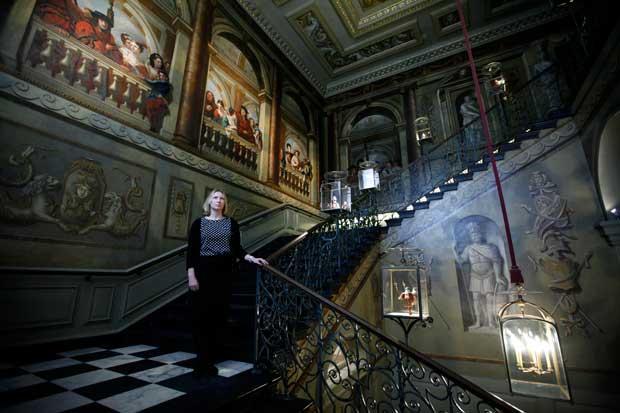 REINO UNIDO, 20.03.2012.  O renovado Kensington Palace reabre em Londres