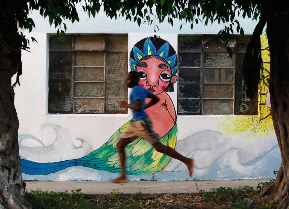 Numa rua de Havana