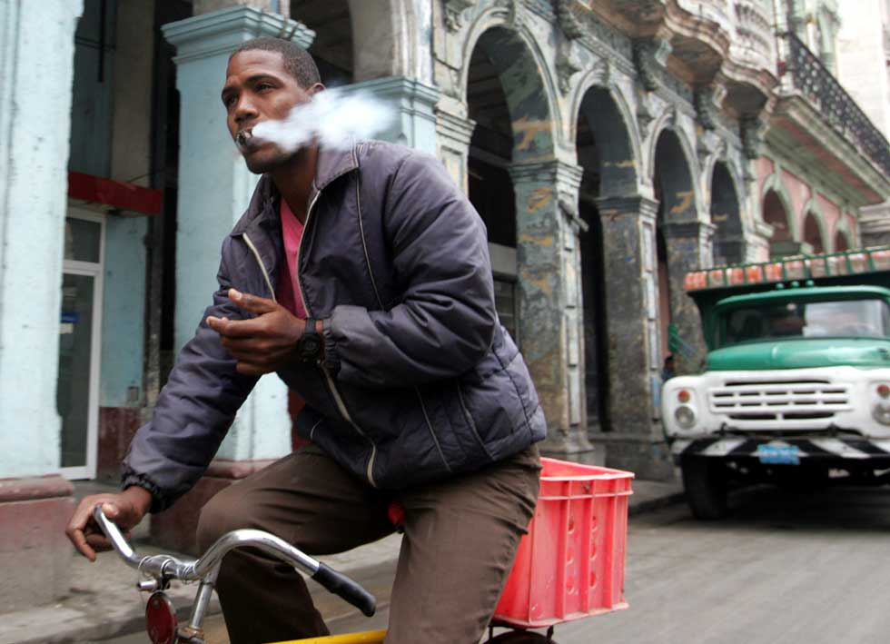 Na baixa de Havana