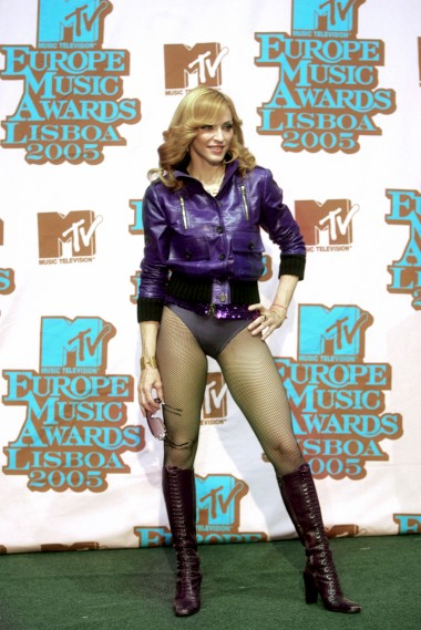MTV Europe Music Awards, em Lisboa - 2005