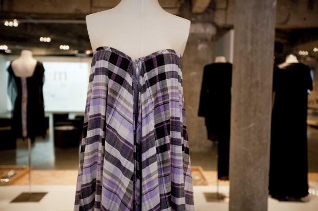 Vestido de voile de algodão. Os Burgueses, 2012