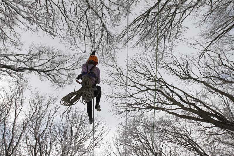 RÚSSIA, 27.03.2012. Momento de uma competição estudantil de escalada em Stavropol.