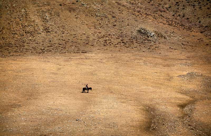Um solitário