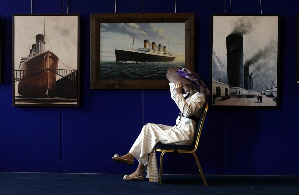 O novo Titanic mostra-se em Belfast