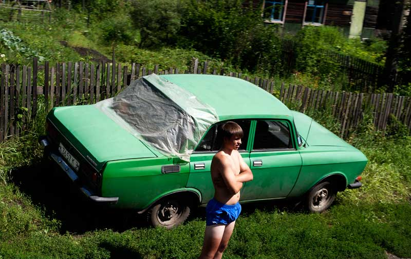 Nas estepes russas a ver o Transiberiano passar