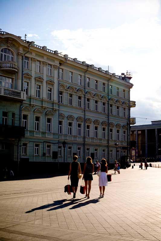 Em Moscovo
