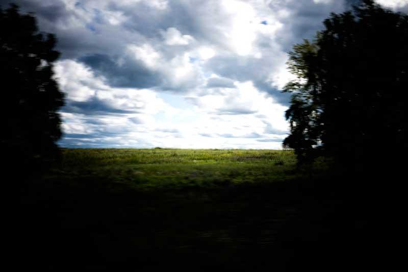 A paisagem eterna do Transiberiano