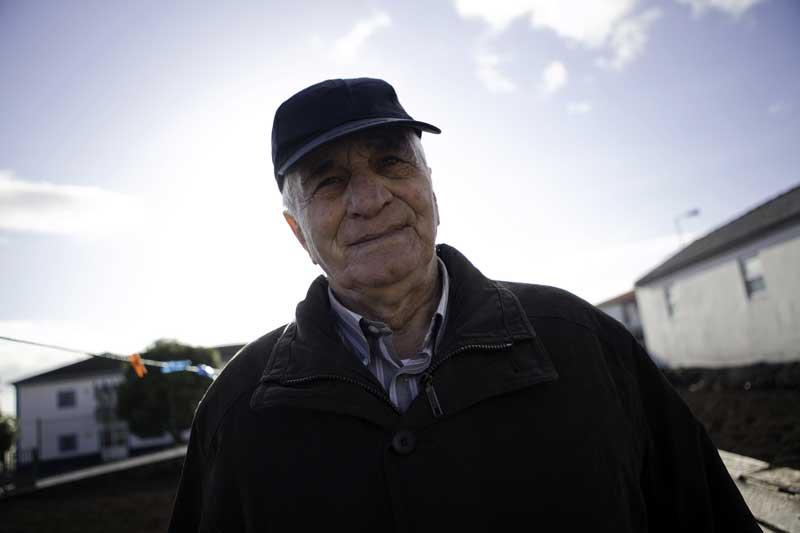 Fernando Pimentel, o último baleeiro vivo da ilha