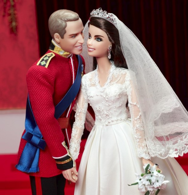 A edição de coleccionador comemorativa da Barbie™, William and Kate Royal Wedding, Mattel. €85