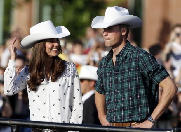 Julho de 2011 – Estilo cowboy em Calgary, na visita oficial ao Canadá