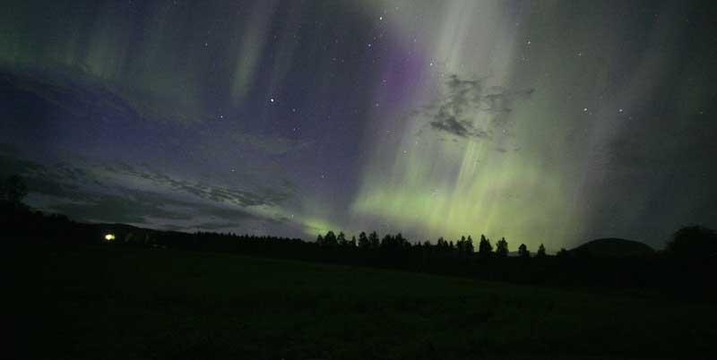 Aurora Boreal em Ostby, Suécia (19.08.2006)