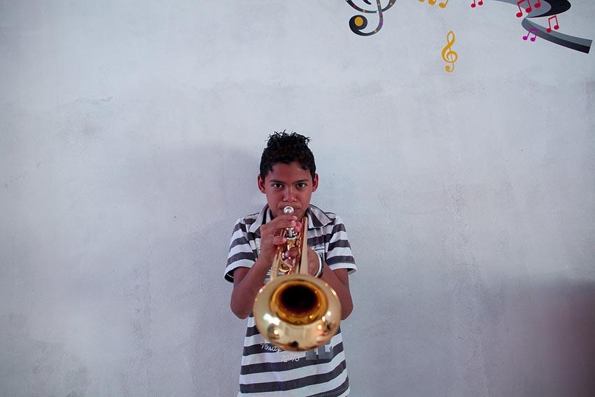 Escola de música em Ibicoara