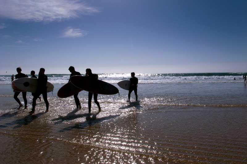 PRAIAS DE USO DESPORTIVO Praia do Guincho - Cascais - Lisboa, Lisboa  e Setúbal
