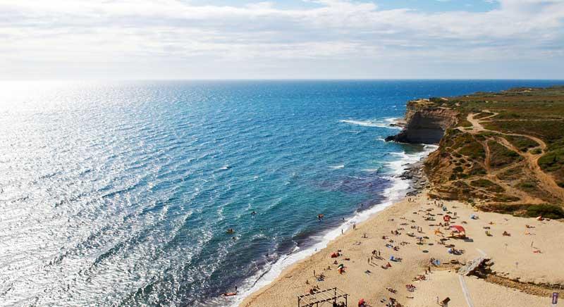 PRAIAS DE USO DESPORTIVO Praia de Ribeira d'Ilhas - Mafra - Lisboa, Lisboa e Setúbal