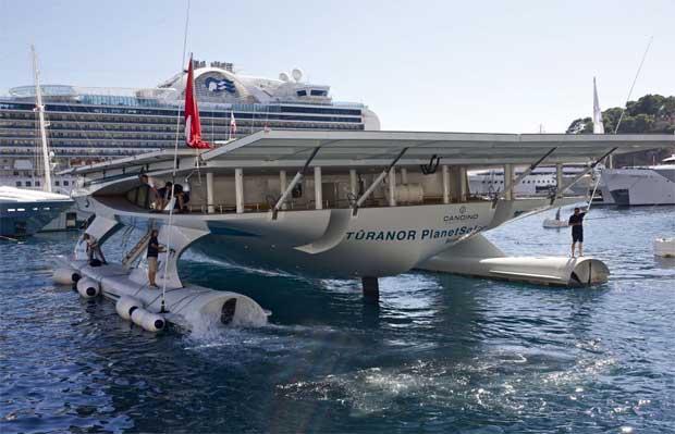 Partida do Mónaco, a 26 de Setembro 2010