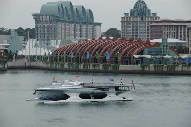 Em Singapura, Outubro 2011