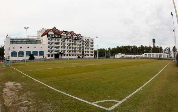 UCRÂNIA. Centro desportivo do Dynamo Kyiv, Kiev, Ucrânia