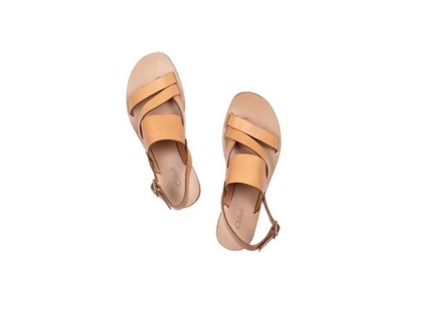 Sandálias em pele|Chloè|€325|Em Net-a-porter.com
