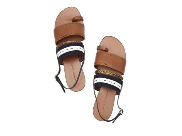 Sandálias em pele|€440|Proenza Schouler