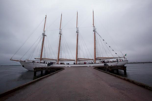 A bordo do Santa Maria Manuela