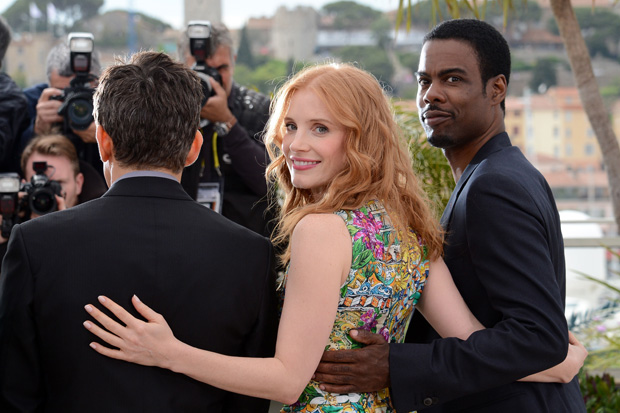 Os actores Ben Stiller, Jessica Chastain e Chris Rock