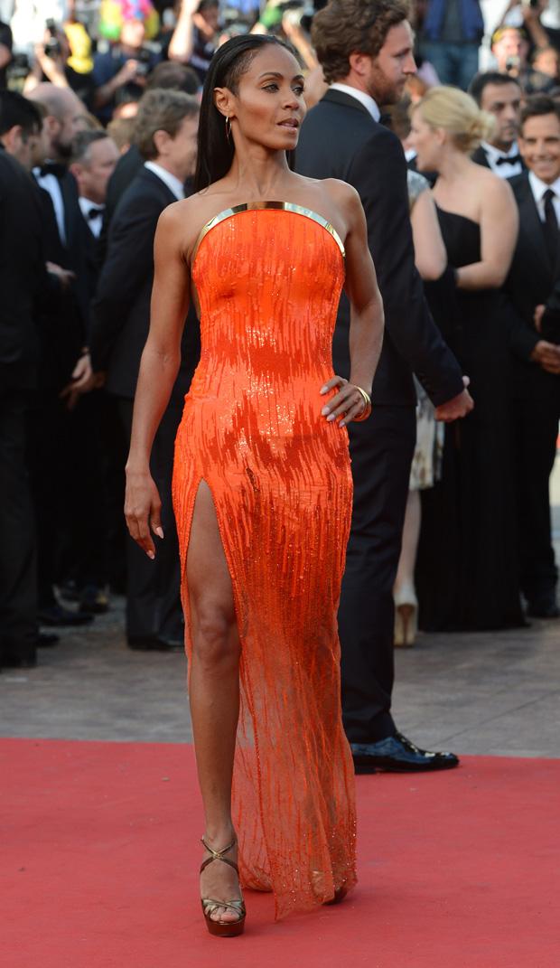 Jada Pinkett Smith vestiu Atelier Versace