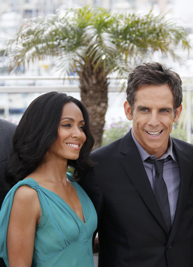 Os actores Jada Pinkett Smith e Ben Stiller