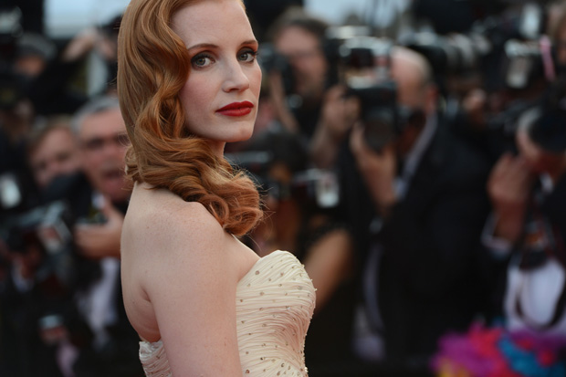 A actriz Jessica Chastain